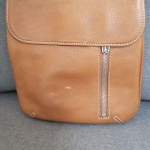 Tignanello Tan Leather crossbody bag